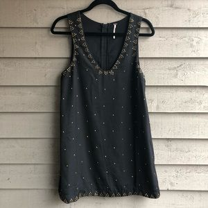 Free People Black Dress. Size 6.